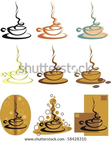 coffee/tea cup - stock vector