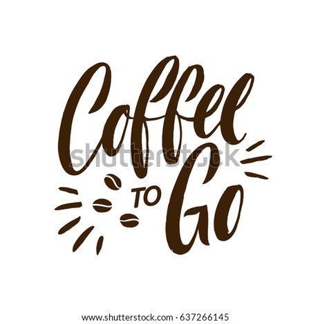 Coffee to go stock images royalty free images vectors for Coffee to go
