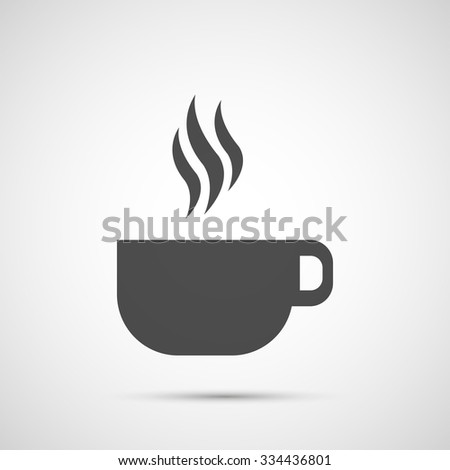 Coffee vector design. Cup of coffee icon.