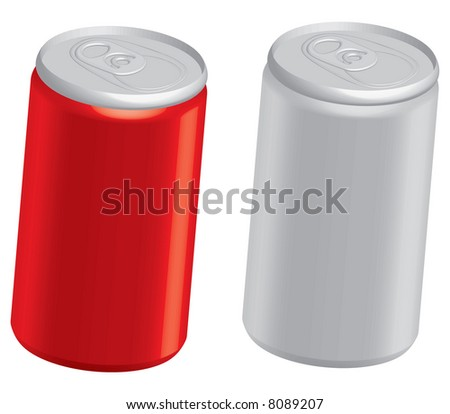 Cola Cans - stock vector