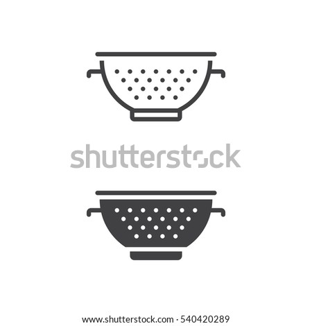 Pasta Strainer Stock Images Royalty Free Images Amp Vectors