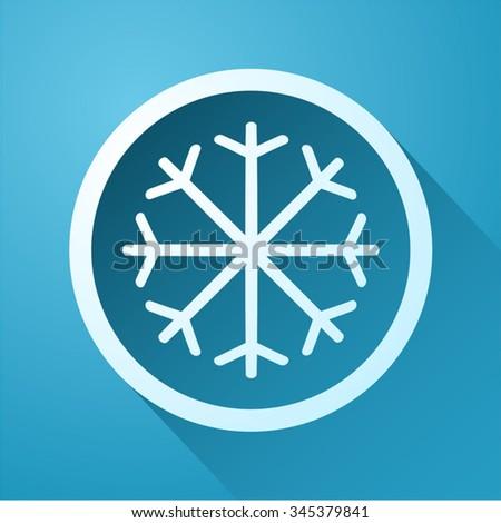 cold icon - stock vector