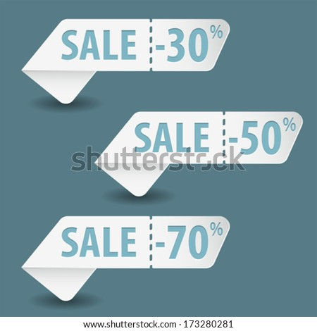 Tear off coupons