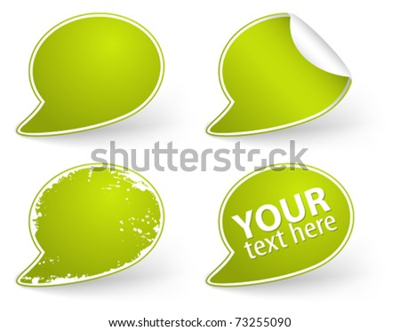 Collect Sticker, element for design, vector illustration - stock vector