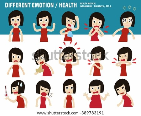 collection asian woman.