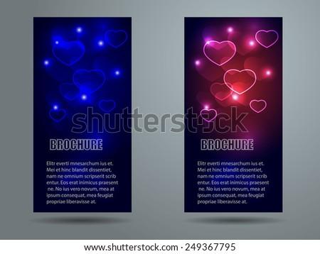 Collection banner design, vector background. Illustration eps10 - stock vector