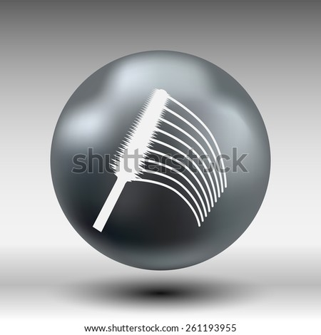 collection of a mascara  shapes each one is shot separately. - stock vector