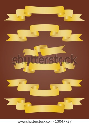 Collection of banners. Vector illustration - stock vector