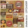 Collection of Coffee Design Elements.Vector Illustration - stock vector