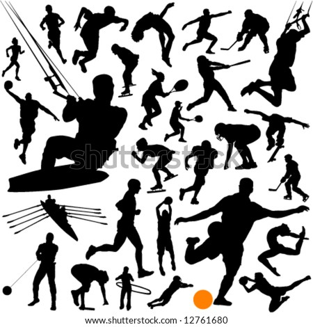 collection of sports vector 2 - stock vector