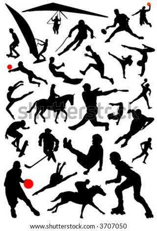 collection of sports vector 2