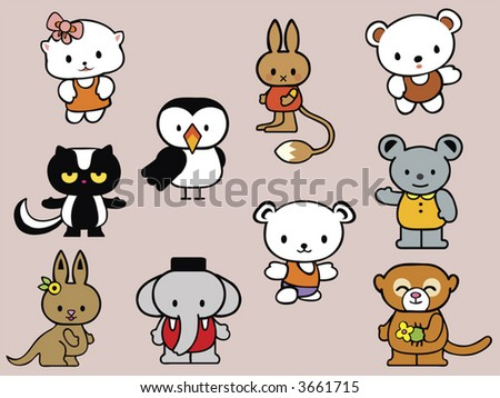 collection of stuffed animal toys for kids