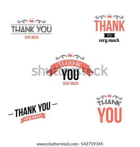 Thank You Very Much Stock Images Royalty Free Images