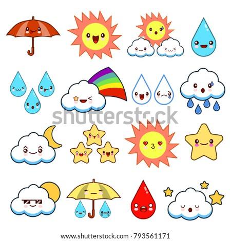emoticons sunny cloudy - photo #8