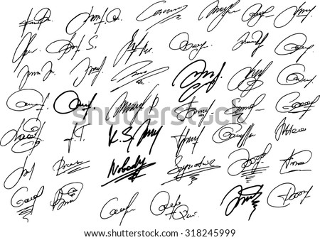 Autograph Stock Images Royalty Free Images Amp Vectors
