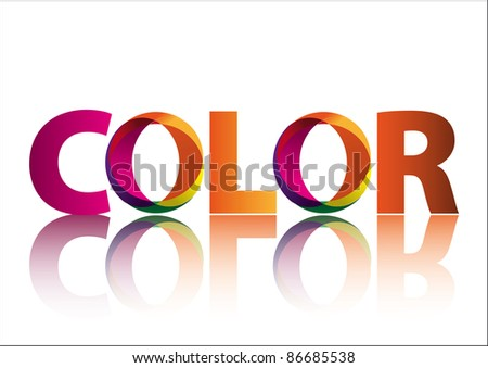 Color - stock vector