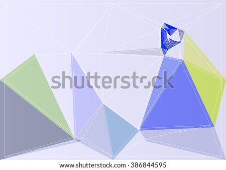 color abstract background vector shape art colorful