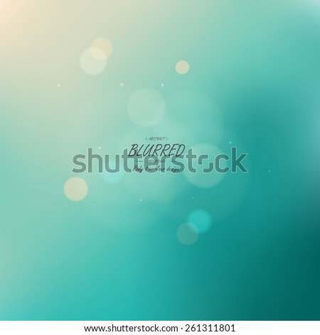 Color Abstract Blurred background. Vector - stock vector
