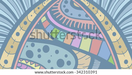 color art background - stock vector
