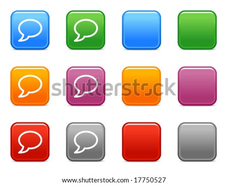 Color buttons with balloon icon