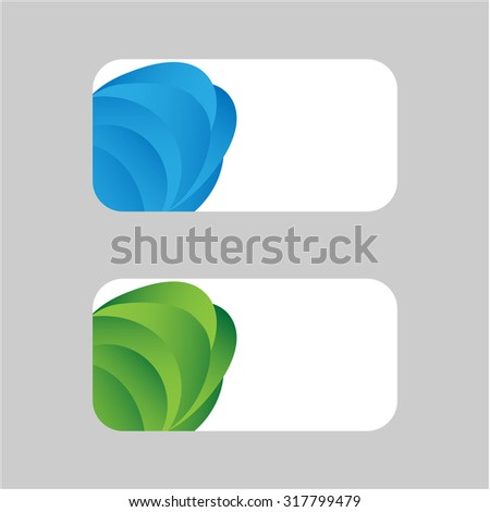 color card background - stock vector