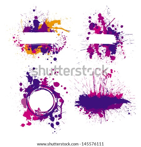 color index blot - stock vector