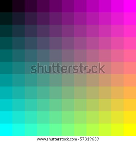 color palette background - stock vector