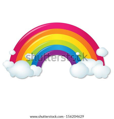 rainbow illustrations and clipart - photo #17