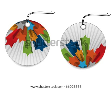 Color Sales Tags type two