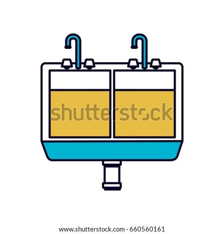 stainless steel sink stock vectors, images & vector art   shutterstock
