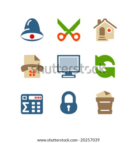 Color set 7 - stock vector