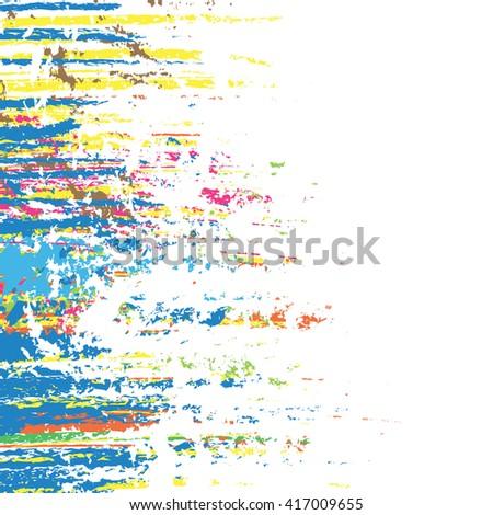 color splash background, vector illustration design element - stock vector