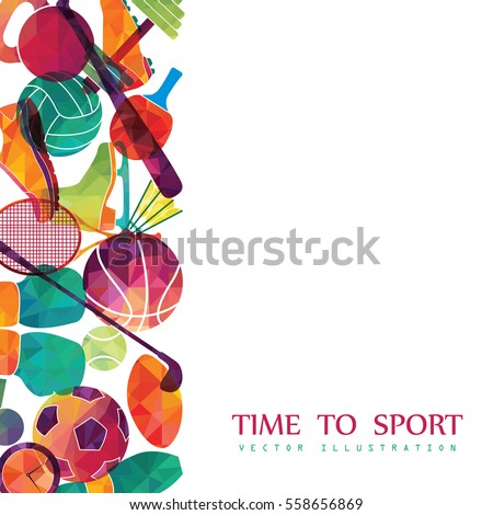 color sport background football basketball hockey box golf tennis - Sport Pictures To Color