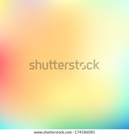 Color summer background. Green, sunny natural background - stock vector