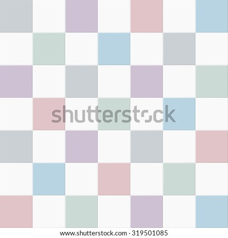 Color tiles vector background. - stock vector