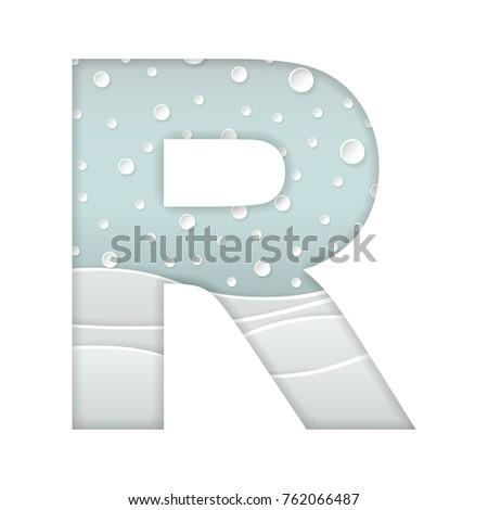 Color Vector Illustration Paper Art Cut Stock Vector 762066487 ...