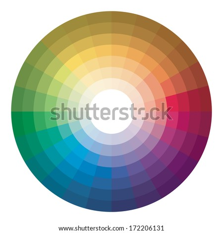 Color Wheel 172206131
