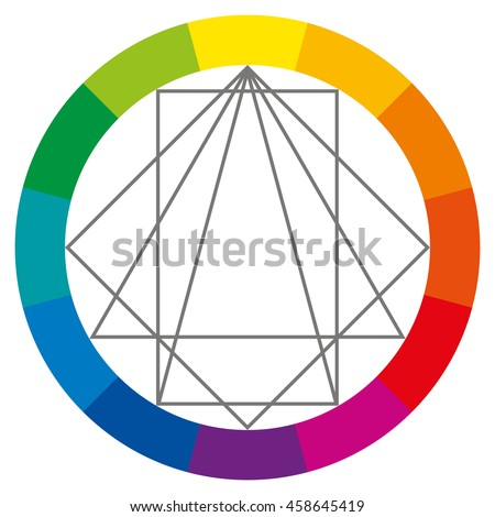 Complementary colors stock images royalty free images - Show color wheel ...