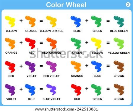 basic colour mixing chart pdf