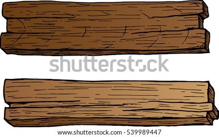 Bon Colored Vector Wood Plans
