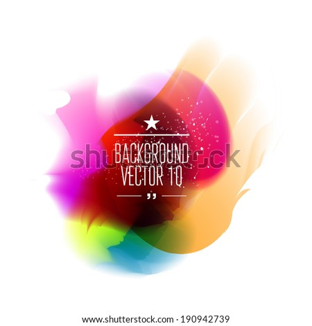 Colorful abstract background for business artwork.  Vector Illustration, Graphic Design Editable For Your Design.  - stock vector