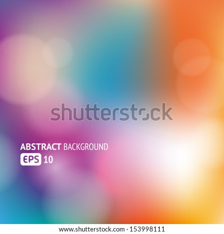 Colorful abstract background for web or print - stock vector