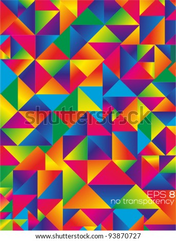 Colorful abstract background (ideal for all background or cover design needs) - stock vector