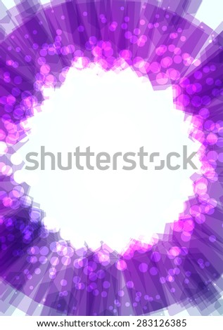 Colorful abstract background with lights. Vector illustration. - stock vector