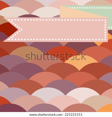 colorful abstract card