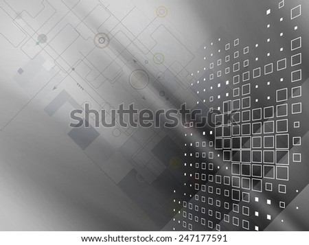 Colorful abstract geometric background for design template - stock vector