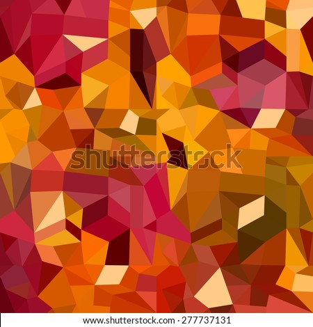Colorful abstract geometric seamless pattern background with triangles and polygons shapes. Ideal for web and app template, book cover, fabric and gift wrap design.  - stock vector