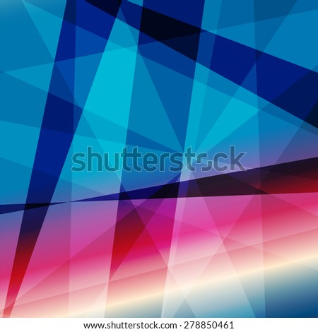 Colorful Abstract Psychedelic Art Background. Vector Illustration. EPS10 - stock vector
