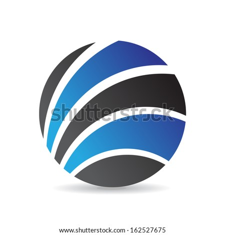 Colorful Abstract Round Icon