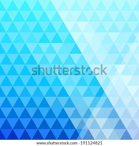 Colorful abstract triangle background. Geometric shapes.
